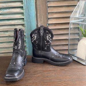 Justin Gypsy Mandra cross wing stud cowgirl boots
